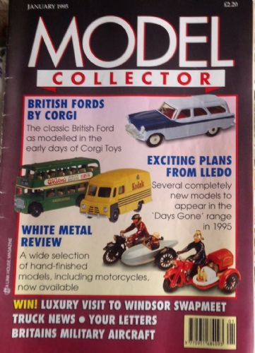 ORIGINAL MODEL COLLECTOR MAGAZINE January 1995